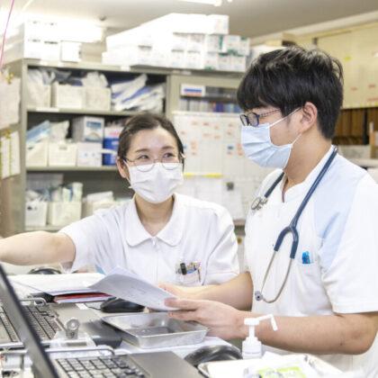 看護師の働く様子